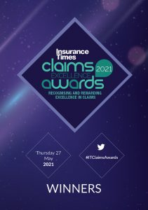Claims Excellence Awards 2021 | Winners programme